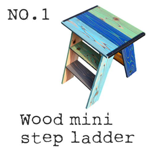 Wood Mini Step Ladder
