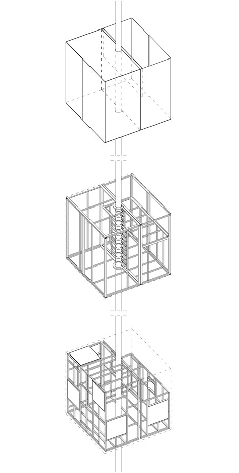 tree-hotel-Mirrorcube-AXONOMETRIC-tham-videgaard